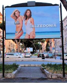 Centro Città Roma pubblicità n.50 impianti 300x200cm outdoor per 14 giorni