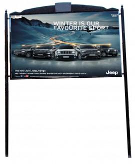 Roma Africano - Viale Etiopia fronte uscita tangenziale altezza Renault - Todis - Sma - Poster - 300X200  outdoor per 14 giorni
