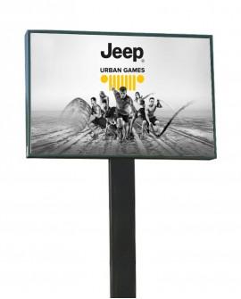 Roma Africano - Via Asmara altezza Scuola Elementare Ugo Bartolomei - Poster - 300x200  outdoor per 14 giorni