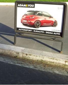 Parapedonale - Roma Aurelia - Via Aurelia Ang. Via Coviello - 100x70 per 14 giorni