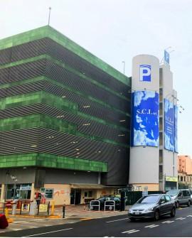 Poster pubbicitario 500x1200cm outdoor per 30 giorni Parcheggio Mestre-Venezia SABA