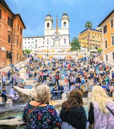 Galleria pedonale Piazza di Spagna SABA - Roma Affissioni